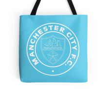 Manchester City Retro Badge Tote Bag