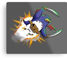 Prinny Explosion! Metal Print