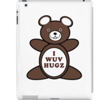 I Wuv Hugz iPad Case/Skin