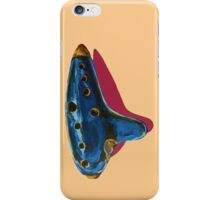 Pop Art-Inspired Ocarina  iPhone Case/Skin