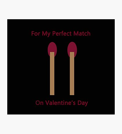 Perfect Match Photographic Print