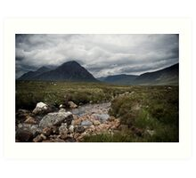 Glencoe Two Art Print