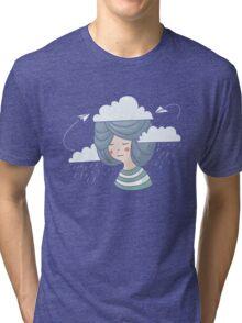 Women's thoughts Tri-blend T-Shirt