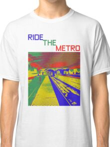 HELP THE WORLD SAVE GAS - RIDE THE METRO Classic T-Shirt