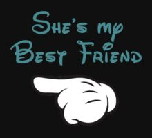 She's my best friend hand pointing right by sweetsisters