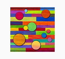 Banded, Color Pencil Abstract Art Unisex T-Shirt