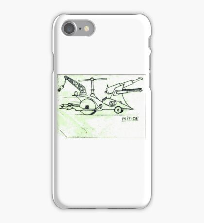 Helicopter car iPhone Case/Skin