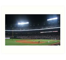 Home of the Braves Art Print