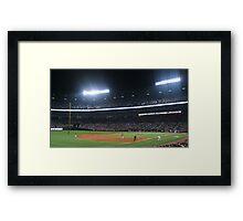 Home of the Braves Framed Print