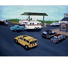 Truck Stop Photographic Print