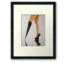 Modesta Heels, by James Patrick Framed Print