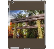 Entry Gate Fabyan Japanese Gardens iPad Case/Skin