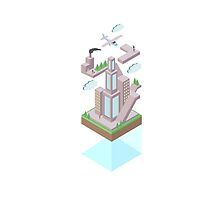 Floating World - CITY by BDex91
