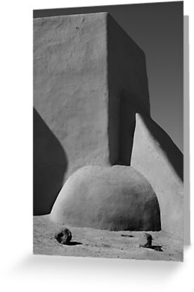 San Francisco de Asis chapel, Taos New Mexico by Heidi Hermes