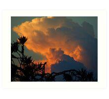 """ Late Storm"".. Art Print"