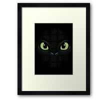 Heart of a chied, soul of a dragon Framed Print