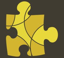Yellow Puzzle Piece by sledgehammer