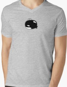 Little Lost Orca Mens V-Neck T-Shirt