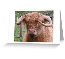 Horny Greeting Card
