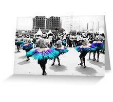 Ramogi Dance Greeting Card