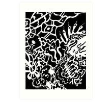 Web World Art Print