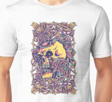 Wired Skull Unisex T-Shirt