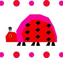 Ladybug Stripe by starryseas
