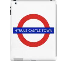 London Underground - Hyrule Castle Town (Zelda) iPad Case/Skin