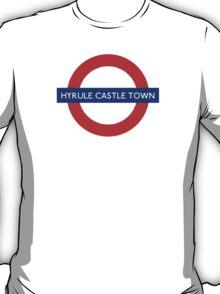 London Underground - Hyrule Castle Town (Zelda) T-Shirt