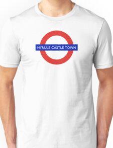 London Underground - Hyrule Castle Town (Zelda) Unisex T-Shirt