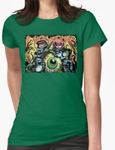 GALACTIC EYE Womens Fitted T-Shirt