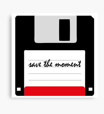 save the moment Canvas Print