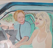Lovers - Greg Norman Weds Chris Evert  by Sunil