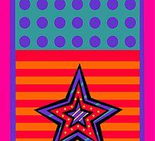 Dot Stars-n-Stripes by starryseas