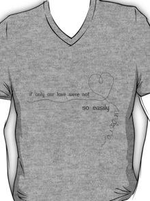 undone (black) T-Shirt