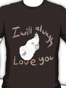 IWALY - White Cockatiel T-Shirt