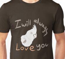 IWALY - White Cockatiel Unisex T-Shirt