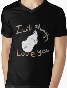 IWALY - White Cockatiel Mens V-Neck T-Shirt