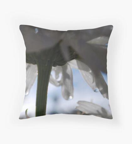 Dew Drops Throw Pillow