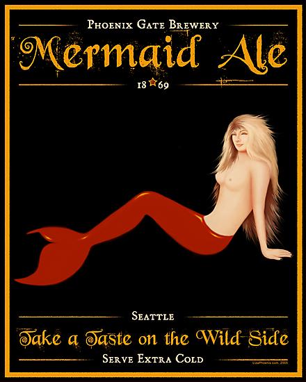 Mermaid Ale by Liza Phoenix