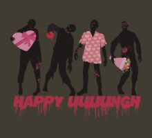 Funny zombies love gifts Valentines Day by BigMRanch