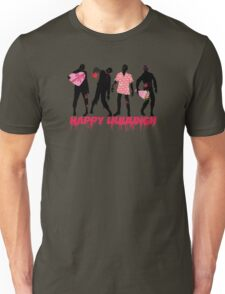 Funny zombies love gifts Valentines Day Unisex T-Shirt