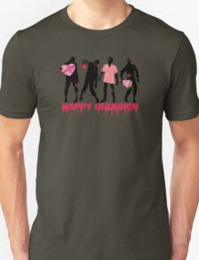 Funny zombies love gifts Valentines Day T-Shirt