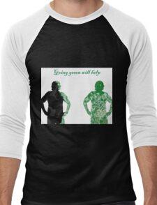 go green Men's Baseball ¾ T-Shirt