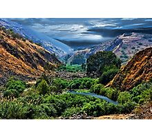 ๑۩۞۩๑ JORDAN RIVER -THE GARDEN OF GOD ๑۩۞۩๑ Photographic Print