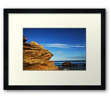 Southern Edge at Point Lonsdale I Framed Print
