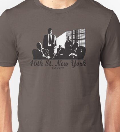 46th St. New York Unisex T-Shirt