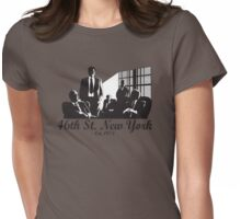 46th St. New York (Women's) Womens Fitted T-Shirt