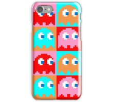 Pacman Ghosts Pop Art iPhone Case/Skin