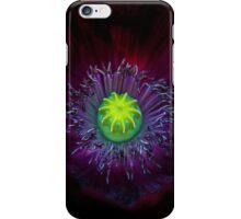 Poppy Macro iPhone Case/Skin